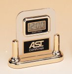 Acrylic Clock With LCD Movement Employee Awards