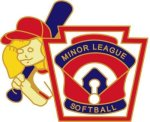 Minor League Softball Pin - 1.25 Little League Recognition pins