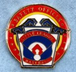 Safety Officer Pin - 1.25 Little League Recognition pins