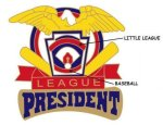 President Pin - 1.25 Little League Recognition pins