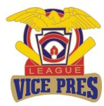 Vice President pin - 1.25 Little League Recognition pins