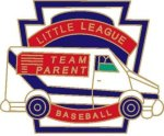 Team Parent Pin - 1.25 Little League Recognition pins