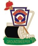 Groundskeeper Pin - 1.25 Little League Recognition pins