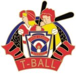 T-Ball Pin - 1.25 Little League Recognition pins