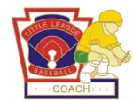 Coach Pin - 1.25 Little League Recognition pins