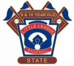 9-10 Yr. Old State pin - 1.25 Little League Tournament Pins