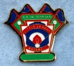 9-10 Yr. Old All Purpose pin Little League Tournament Pins