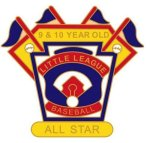 9-10 Yr. Old All Star pin - 1.25 Little League Tournament Pins