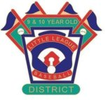 9-10 Yr. Old District pin - 1.25 Little League Tournament Pins