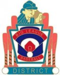 Big League District pin - 1.25 Little League Tournament Pins