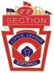 Little League Softball Section pin - 1.25 L.L. Softball Tournament pins